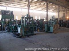 Maschinen zur Autogas Tank Herstellung