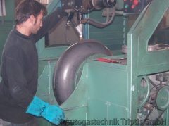 Bearbeitung eines Autogas Tank