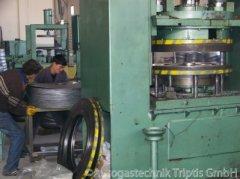 Fertigungsschritt bei der Autogastank Herstellung