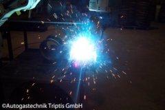 Herstellung eines Autogas Tank für PKWs