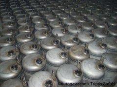 AutogasTanks im  Lager