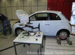 Abgas Test für Autogas Fahrzeuge