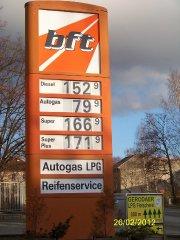 Autogas in Deutschland (Triptis)