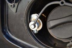 Befüllanschluss Gas beim Volvo V50 2,4 125 KW