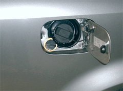 Befüllanschluss der Gasanlage von Zavoli hier beim Audi A4 Turbo 120 KW