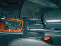 ESM Autogastechnik Benzin- / Gas- Umschalter in der Mittelkonsole im Audi A4