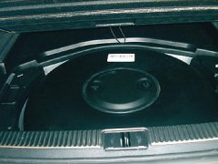 Den Zavoli Autogastank ab 71 Liter Füllvolumen hier im Audi A4 Turbo 120 KW